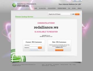 redalliance.ws screenshot