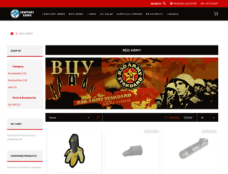 redarmystandard.com screenshot