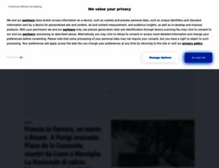 redazione.quotidiano.net screenshot