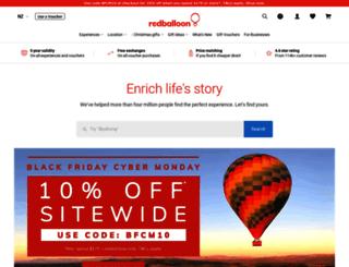 redballoon.co.nz screenshot
