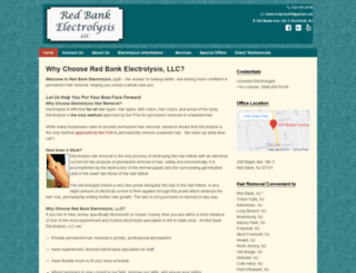 redbankelectrolysis.com screenshot