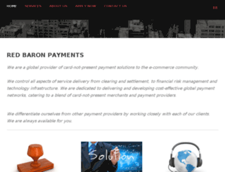 redbaronpayments.com screenshot