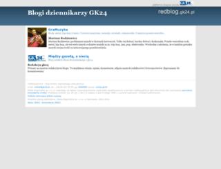 redblog.gk24.pl screenshot