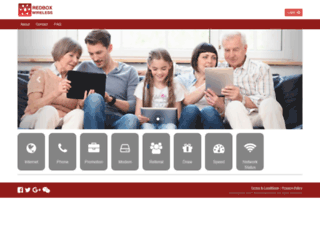 redboxwireless.com screenshot