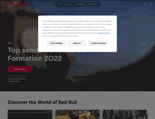 redbull.se screenshot