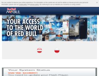 redbullmobile.hu screenshot