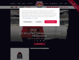redbulls.com screenshot