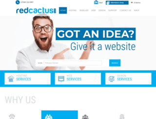 redcactus.co.za screenshot