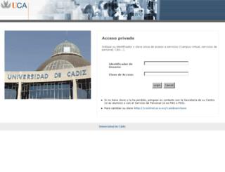 redcampus.uca.es screenshot