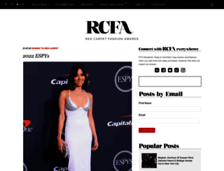 redcarpet-fashionawards.com screenshot