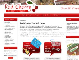 redcherryshopfittings.co.uk screenshot
