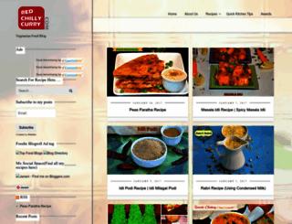 redchillycurry.com screenshot