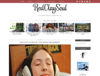 redclaysoul.com screenshot