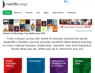 redcliffe.org screenshot