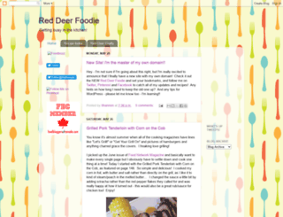 reddeerfoodie.blogspot.com screenshot