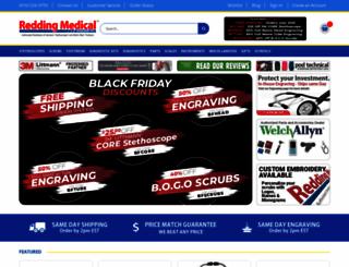 reddingmedical.com screenshot
