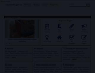 redditchbc.gov.uk screenshot