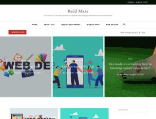 reddmaze.com screenshot