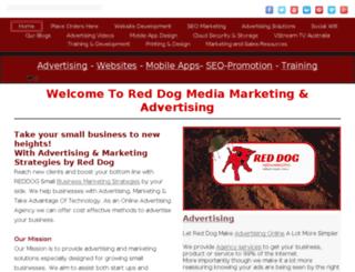 reddogstrategies.com.au screenshot
