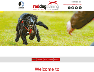 reddogtraining.co.uk screenshot