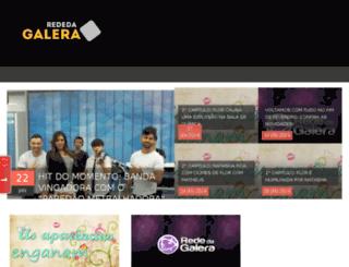 rededagaleraoficial.blogspot.com.br screenshot