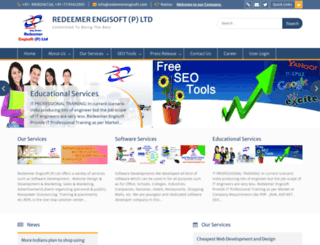 redeemerengisoft.com screenshot
