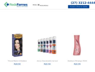 redefarmes.com.br screenshot