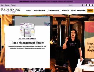 redefiningmom.com screenshot