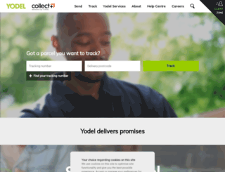 redelivery.yodel.co.uk screenshot