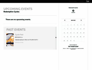 redemptivecycles.ticketleap.com screenshot