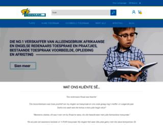 redenaars.co.za screenshot