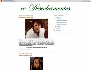 redescobrimentos.blogspot.com screenshot