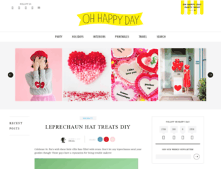redesign-staging.ohhappyday.com screenshot