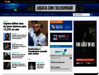 redetv.com.br screenshot