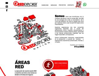redexplorer.mx screenshot