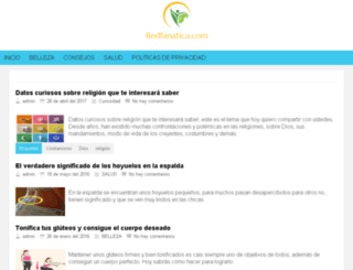 redfanatica.com screenshot