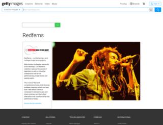redferns.com screenshot