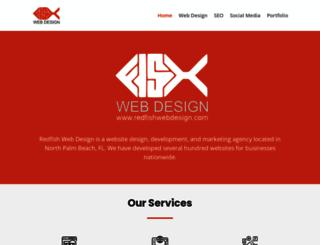 redfishwebdesign.com screenshot