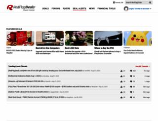 redflagdeals.com screenshot