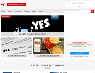 redflagdeals.net screenshot
