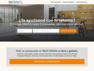 redformas.es screenshot