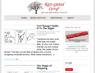 redgramliving.com screenshot