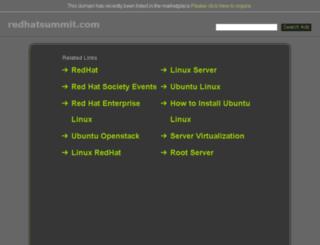 redhatsummit.com screenshot