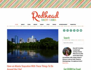 redheadbabymama.com screenshot