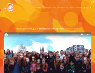redheaddays.nl screenshot