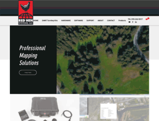 redhensystems.com screenshot