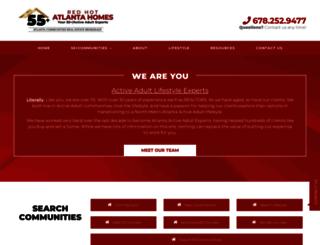 redhotatlantahomes.com screenshot
