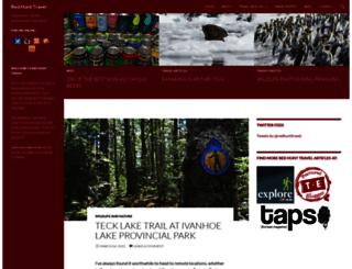redhunttravel.com screenshot