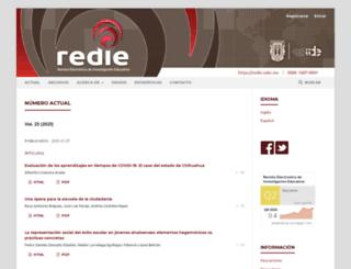 redie.uabc.mx screenshot