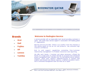 redingtonqatar.com.qa screenshot
